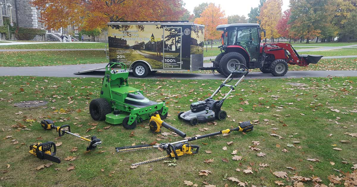 Sustainable Groundskeeping