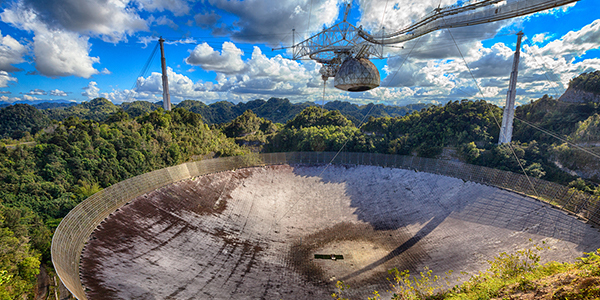 The Collapse of the Arecibo Observatory Telescope