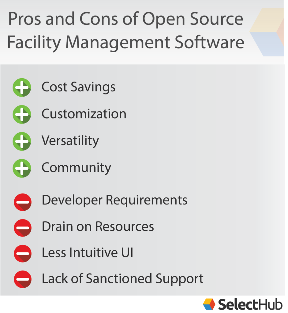 Pros & Cons of Open Source Facility Management
